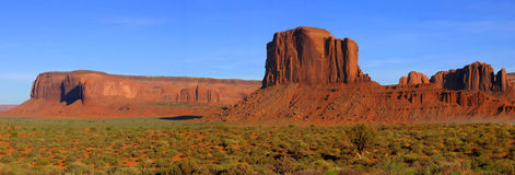 Monument valley at spring Royalty Free Stock Photo