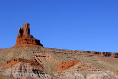 Monument Valley Striations Royalty Free Stock Photos
