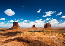 Monument Valley during summer Stock Image