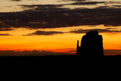 Monument Valley Sunrise Stock Image