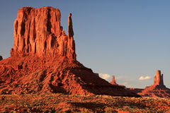 Monument valley at sunset Stock Image