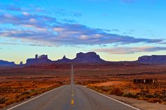 The Monument Valley Stock Image