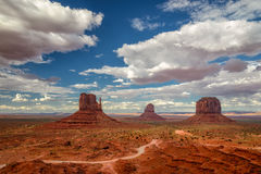 Monument Valley at sunset, Utah, USA. Stock Photo