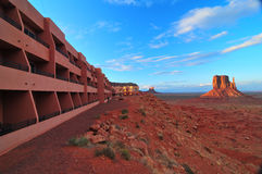 Monument Valley at Sunset Stock Images