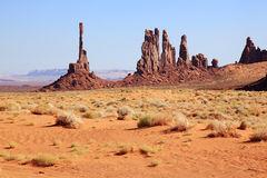 Monument Valley Totem Pole Stock Photos