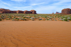 Monument Valley, Totem Pole Royalty Free Stock Images