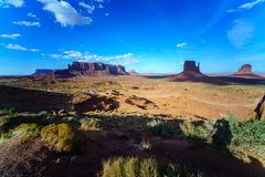 The Monument Valley Tribal Park, Arizona, USA Stock Images