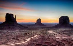 Monument Valley, Tribal Park, Arizona, Utah, USA Royalty Free Stock Image