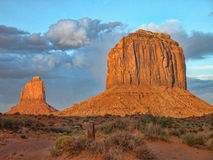 Monument Valley, U.S.A., August 2004 Stock Photo