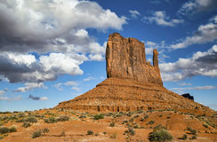 Monument Valley under a dramatic sky Royalty Free Stock Photography