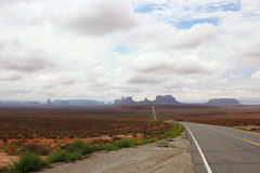 Monument valley in Usa 2013 Stock Images