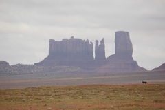 Monument valley in Usa 2013 Royalty Free Stock Image