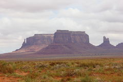 Monument valley  usa 2013 Royalty Free Stock Images