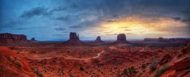 Monument Valley USA royalty free stock photo
