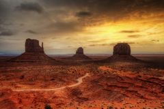 Monument Valley USA royalty free stock image
