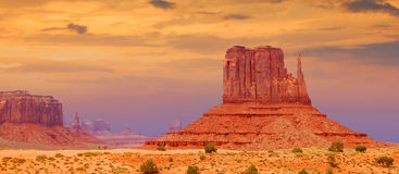 Monument valley, Utah Royalty Free Stock Photo