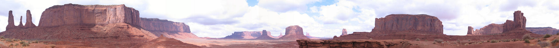 Monument Valley, Utah. This image was taken near Monument Valley, Utah Stock Image