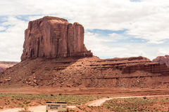 Monument Valley. In Utah America Royalty Free Stock Images