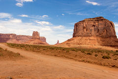 Monument Valley. In Utah America Stock Photo