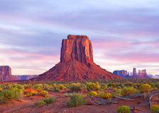 Monument Valley in Utah and Arizona Royalty Free Stock Photography
