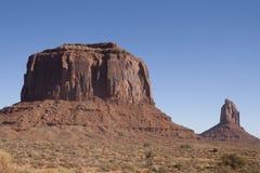 Monument Valley, Utah/Arizona, USA. Beautiful red rock formations of Monument Valley, Utah/Arizona, USA Royalty Free Stock Image
