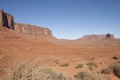 Monument Valley, Utah/Arizona, USA. Beautiful red rock formations of Monument Valley, Utah/Arizona, USA Stock Photo