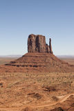 Monument Valley, Utah/Arizona, USA. The Hand in Monument Valley, Utah/Arizona, USA Royalty Free Stock Images