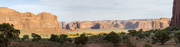 Monument Valley in Utah Royalty Free Stock Images