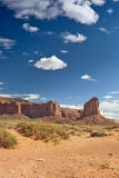 Monument Valley in Utah, United States of America. Royalty Free Stock Photos