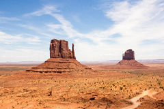 Monument Valley. In Utah USA Stock Images