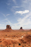 Monument Valley. In Utah USA Royalty Free Stock Photos