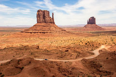 Monument Valley. In Utah USA Stock Photo