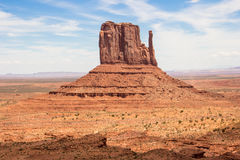 Monument Valley. In Utah USA Royalty Free Stock Photo