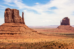Monument Valley. In Utah USA Stock Photos