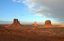 Monument Valley, Utah, USA. Royalty Free Stock Images