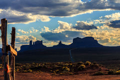 Monument Valley, Utah, USA Royalty Free Stock Image