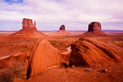 Monument Valley View Stock Image
