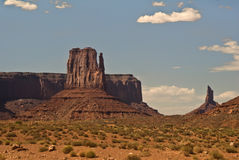 Monument Valley view. This is a view from the famous natural wonder, Monument Valley royalty free stock image