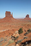 Monument Valley. View form vistor center Royalty Free Stock Image