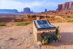 Monument Valley, view from  John Fords Point Royalty Free Stock Photos