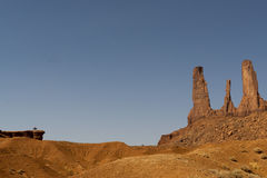 Monument Valley view Royalty Free Stock Photos