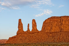 Monument Valley view Royalty Free Stock Image