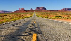 Monument Valley. This view was seen on road 163 in Monument Valley Royalty Free Stock Image