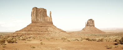Monument Valley vintage Royalty Free Stock Images
