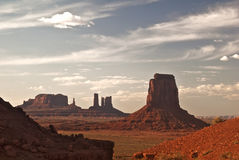 Monument Valley Vista Royalty Free Stock Images