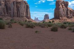 monument valley w arizonie Zdjęcia Royalty Free