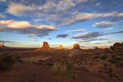 monument valley w arizonie Zdjęcie Stock