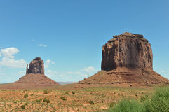 monument valley w arizonie Obrazy Stock