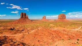 monument valley w arizonie Zdjęcie Royalty Free