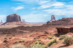 monument valley w arizonie Fotografia Royalty Free